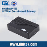 De alto rendimiento Cross-Network DBL Voive Gateway (RoIP-102)