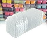 Bandeja clamshell de PVC por grosso de Cera de Soja Tart Derrete Embalagem