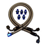 Manufacture Steel Wire PTFE Racing Because Car Smooth Bore Teflon Hose Brake Line Hose clouded