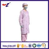 Vestiti differenti di colori ESD per il panno di pulizia del locale senza polvere ESD
