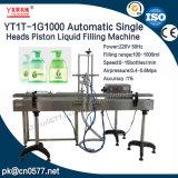 Machine de remplissage liquide de piston principal simple pour l'essence d'épierreuse (YT1T-1G1000)