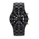 Индивидуального дизайна OEM-производителя многофункциональных хронограф деревянные часы для мужчин