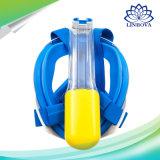 Máscara subacuática determinada del equipo de submarinismo de la cara llena de la máscara del salto de la natación para los adultos de los niños