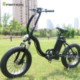 Venta caliente 2016 neumático gordo de 20 pulgadas plegable la bicicleta eléctrica