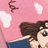 Zak van de Pen van het Geval van het Potlood van de Meisjes van Cavnas van het beeldverhaal de Leuke