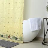 Heavy Duty de poliéster de calibre 10 cortina de baño de ducha Decoración
