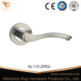 União simples puxador da porta de madeira Interior de alumínio (AL081-ZR02)