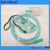Medial Aeresol PVC masque nébuliseur avec kit pour l'utilisation de l'hôpital