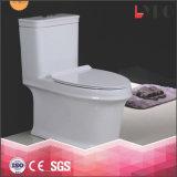Il ciclone uno di Siphonic collega la ciotola di toletta di ceramica della fabbrica di Chaozhou per la stanza da bagno
