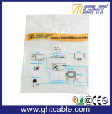 Koper 1m Kabel van de Hoge snelheid HDMI met de Kernen van de Ring 1.4V