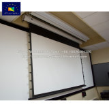 Проектор с электроприводом экран внутреннего и внешнего контроля