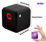 Proyector elegante portable más pequeño del vídeo del DLP de la radio LED del mundo el mini