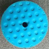 Полируя пусковая площадка губки с пластичной подкладочной плитой