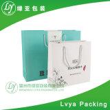 Saco de papel impresso relativo à promoção da embalagem do presente para o vestuário