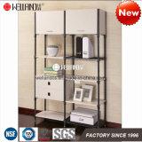 Multifunción Dormitorio ropa de almacenamiento de acero y muebles de madera
