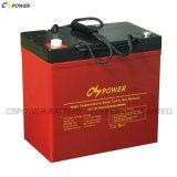 Batterie d'accumulateurs à énergie solaire de Cspower VRLA 12V 55ah pour EV