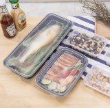 Type conteneur de cadres et de coffres de mémoire de nourriture en plastique rectangulaire