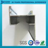Libyen-Aluminium verdrängte Profil-Fenster-Tür kundenspezifische Farbe