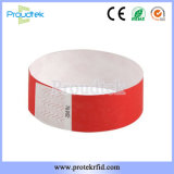 MIFARE Tyvek Wristband papel Wristband papel Wristband desechables