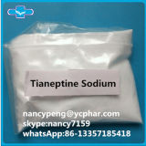 99.35% Rohes Nootropic mischt Droge Tianeptine Natriums bei
