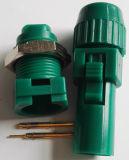 D tipo push-pull fichas de ligação plástico