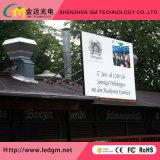 Shenzhen GM P6mm ventilação publicidade todas as cores da tela do visor LED de exterior
