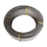 Plus la taille personnalisée durable de haute température en PTFE flexible tuyau tressé