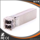 Modulo compatibile della fibra del broccato 10G CWDM SFP+ 1470nm-1610nm 80km