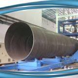 API 5L de Dikke Pijp van het Staal van de Grote Diameter van de Muur Spiraal Gelaste