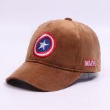Neue kundenspezifische Ära-Form-Stickerei-Samt-Hut-Schutzkappe