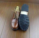 Vestido de couro macio Mens Oxford sapatos