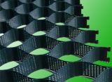 Strukturiertes Oberflächen-HDPE PlastikGeocell mit Cer-Bescheinigung