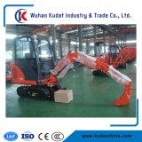 0.14m3バケツのマイクロクローラー4トンの販売のためのディーゼル中国の安い小型掘削機