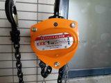 Élévateur à chaînes manuel à chaînes de levage en acier allié par G80 de Hsc-Ty