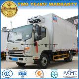 Caminhão do armazenamento frio de JAC 4X2 5 toneladas de veículo do refrigerador