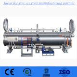 食品包装機械のための自動水スプレーのレトルトオートクレーブの滅菌装置