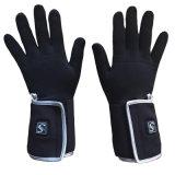 L'hiver windproof batterie rechargeable Gants chauffants, équipements de sports de plein air chauffée de gants