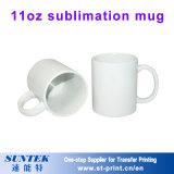11oz Magische Mokken van de Douane van de Mok van de sublimatie de Witte Ceramische met Met een laag bedekt