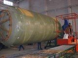 Macchina di bobina orizzontale del serbatoio o dell'imbarcazione di GRP FRP
