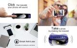 Монитор кровяного давления поддержки конструкции цифров Wristwatch Bluetooth способа франтовской