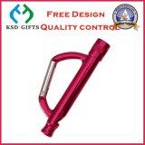 Promitonal 선물 (KSD-899)를 위한 도매 D 모양 검정 Carabiner