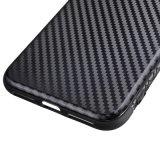 신제품 TPU 탄소 섬유 iPhone를 위한 iPhone x를 위한 연약한 이동 전화 상자 6개의 7개의 8개의 더하기 이동 전화 상자 덮개