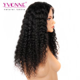 Da densidade nova do cabelo 180% do Virgin do estilo de Yvonne peruca profunda da parte dianteira do laço da onda