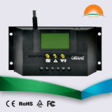 regolatore solare automatico della visualizzazione dell'affissione a cristalli liquidi 12V24V 30A