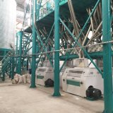 macchina completamente automatica di macinazione di farina del mais di standard europeo 150t/24h