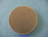 Het gele Infrarode Ceramische Wafeltje van het Cordieriet van de Honingraat van de Oven voor Brander