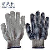 Shandong 공급자에게서 고품질 PVC에 의하여 점을 찍는 작동 장갑