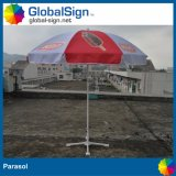 Hersteller eingebrannter fördernder Karren-Regenschirm-Strand-Sonnenschirm