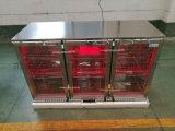 Refrigerador da cerveja da barra da parte traseira do aço inoxidável/refrigerador parte superior contrária para o refrigerador da cerveja da loja da barra