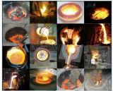 Horno fusorio de la máquina de calefacción de inducción para derretir 10 kilogramos del cobre, del latón, de la plata, del oro, del acero inoxidable, del aluminio etc